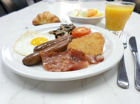 Best Western President Hotel Auckland : Breakfast Buffet