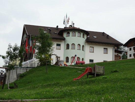 Hotel Alpenrose: Blick vom Garten aus