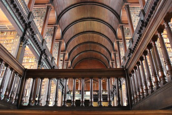 The Book of Kells and the Old Library Exhibition: The Long Room