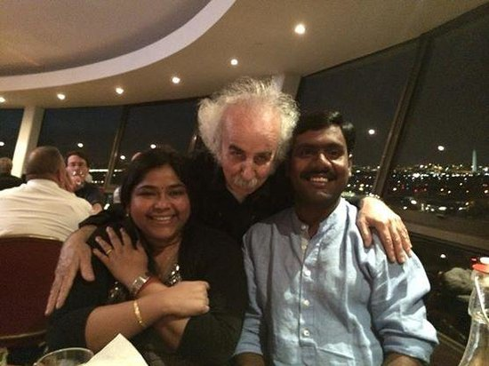 Sky Dome at Doubletree Crystal City: with Einstein