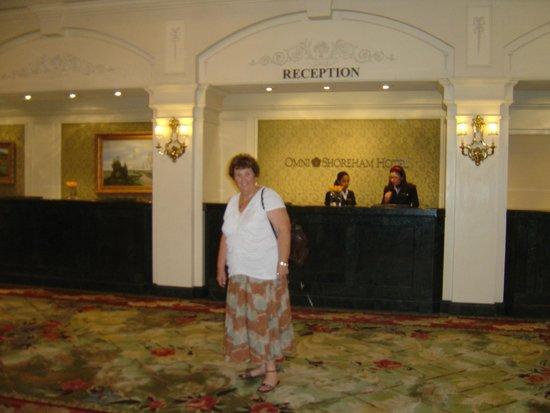 Omni Shoreham Hotel: check-in