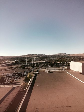 Grand Sierra Resort and Casino: View from my room window