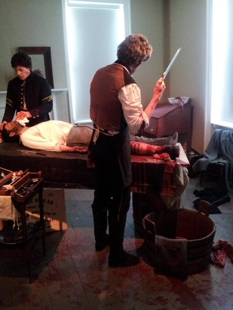 Gettysburg Seminary Ridge Museum: care for wounded