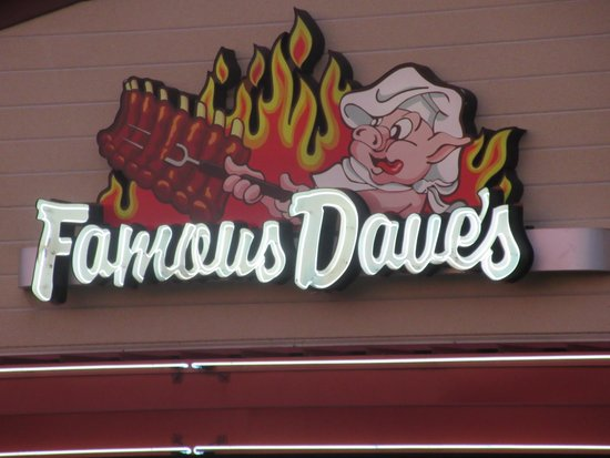 Good Ribs at Famous Dave's in San Jose, Ca