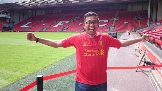 LFC Museum and Tour Centre: At Anfield
