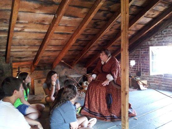 Shriver House Museum : tour in attic