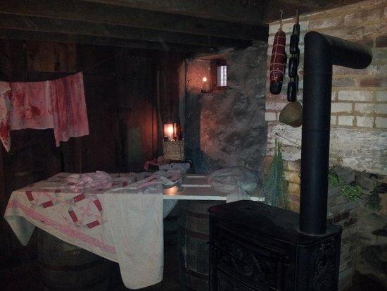 Shriver House Museum : basement