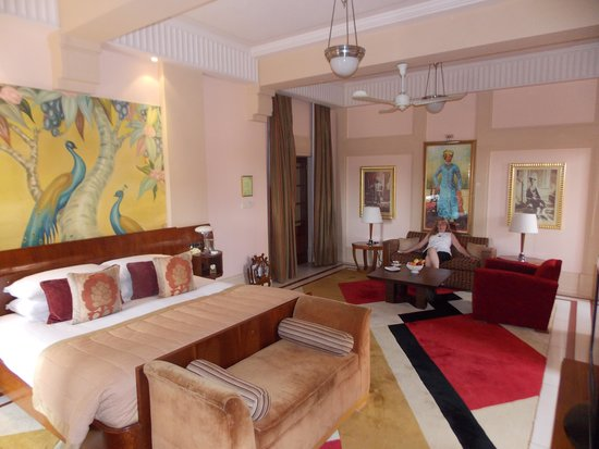 Umaid Bhawan Palace Jodhpur : Our suite