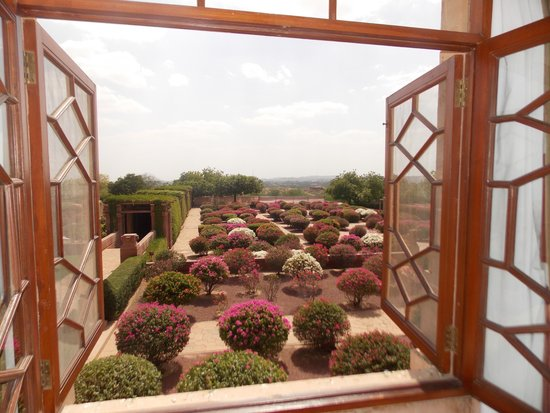 Umaid Bhawan Palace Jodhpur : View from our suite bedroom