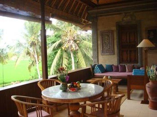 Alam Shanti: Gangga veranda