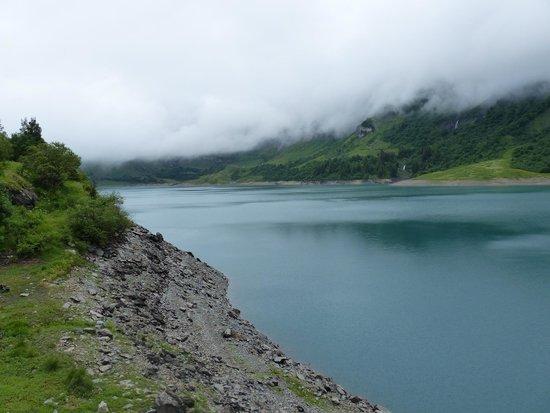Barrage et Site de Roselend: Le Roselend