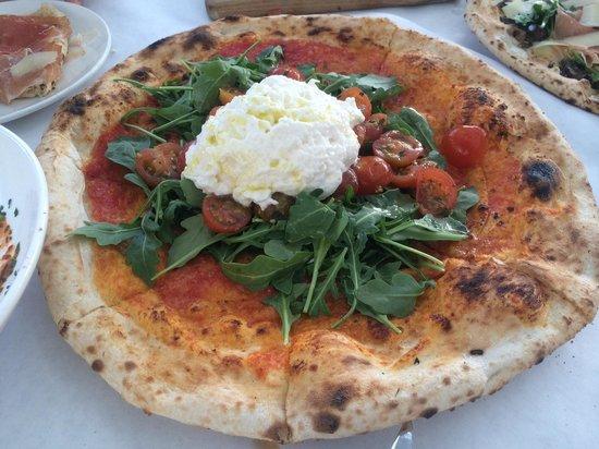 Terun: Pizza tricolore