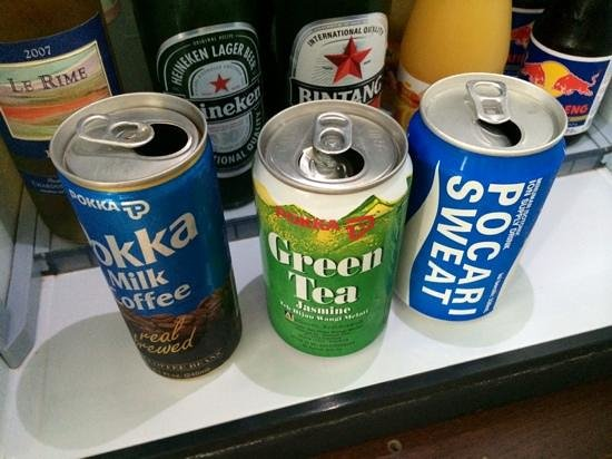 Hotel Indonesia Kempinski: cans were left open,previous gst consumed