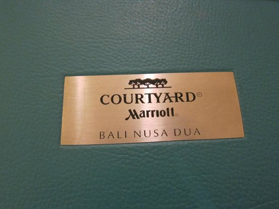 Courtyard by Marriott Bali Nusa Dua Resort: Courtyard Mariott!