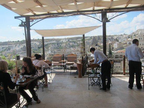 Kelebek Special Cave Hotel: Dining area