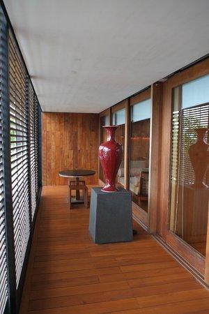 The Lalu Sun Moon Lake: Balcony of the room