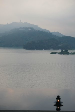 The Lalu Sun Moon Lake: View from the hotel to Sun Moon Lake