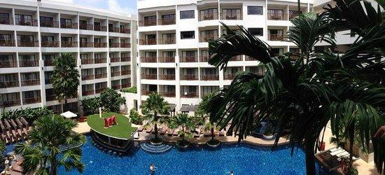 Deevana Plaza Phuket Patong: View from the balcony