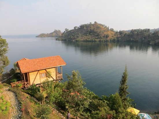 Cormoran Lodge: View from our room