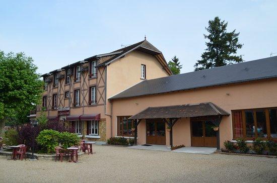 Le Chalet de la Foret: Main building