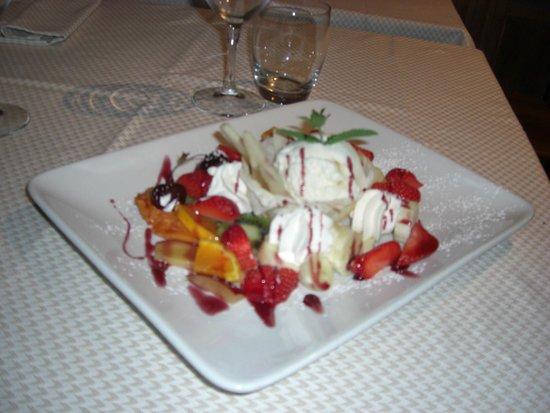 Al Baccanale : il dessert