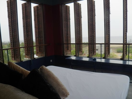 The Dune Eco Village & Spa : View from the lounge