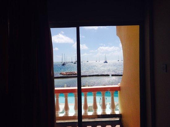 Kings Landing Hotel: View from ocean view room.