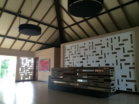Epe Resort: Lovely reception area