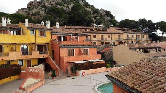 Residenza Borgo Punta Villa: vista dal terrazzino della camera da letto