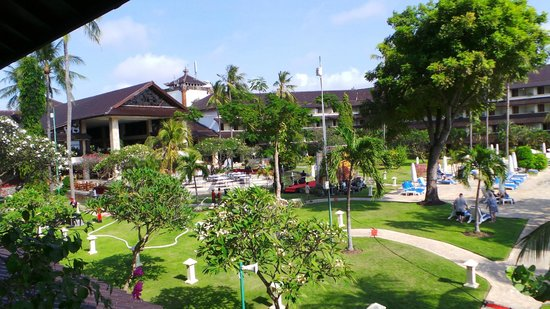 Discovery Kartika Plaza Hotel: View from our room.