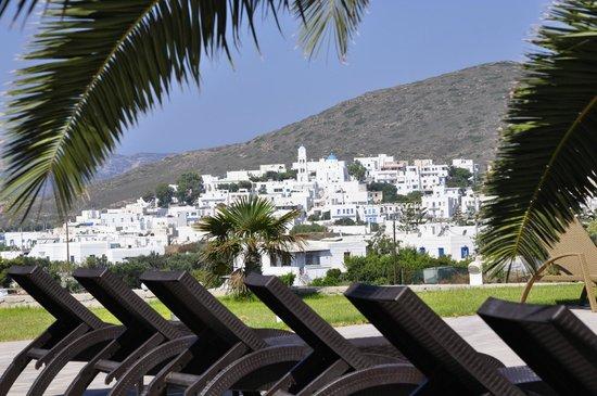 Santa Maria Village: uitzicht vanaf het zwembad