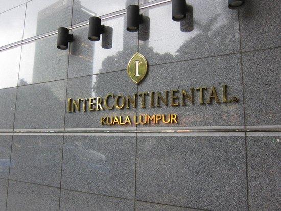 InterContinental Kuala Lumpur: entrance