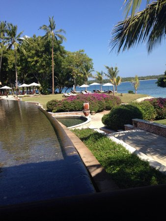 The Oberoi, Lombok : From the cafe (great pizza)
