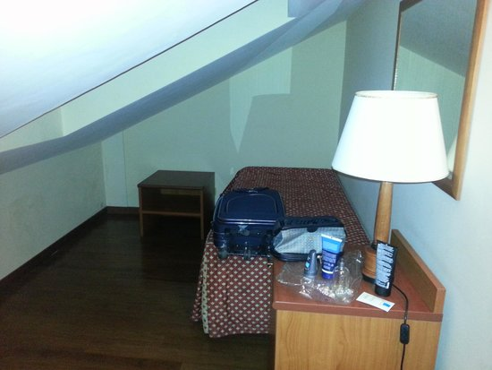 Hotel American Palace EUR: Nicchia del letto supplementare
