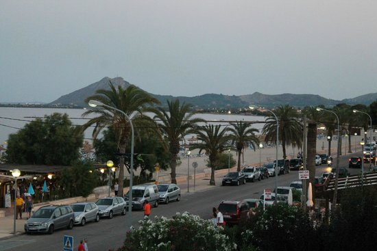 Hotel Romantic: looking towards Alcudia direction