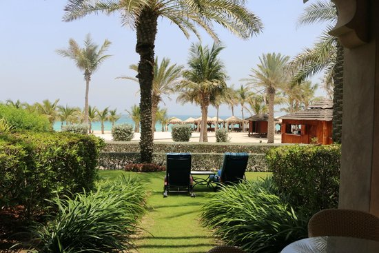 Jumeirah Dar Al Masyaf at Madinat Jumeirah : View from our villa.