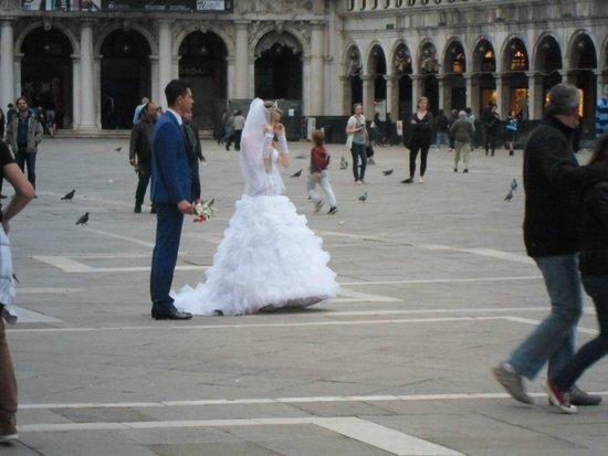 Piazza San Marco (Place St Marc) : Tudo encanta em venezia !!!