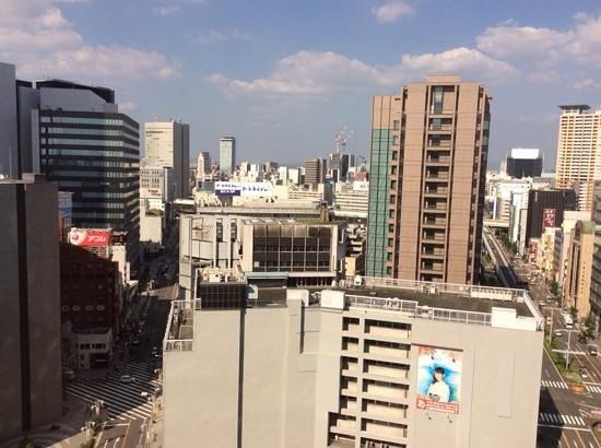 Meitetsu Grand Hotel : 客室からの眺め