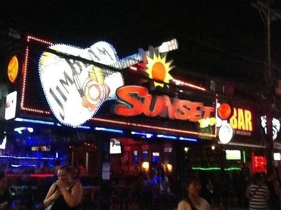 Bangla Road: one of the bars