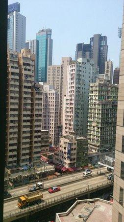 Holiday Inn Express Hong Kong Causeway Bay: View from room