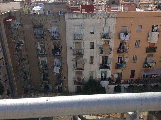 Hotel Mimic: Innenhof vom Roof-Top aus