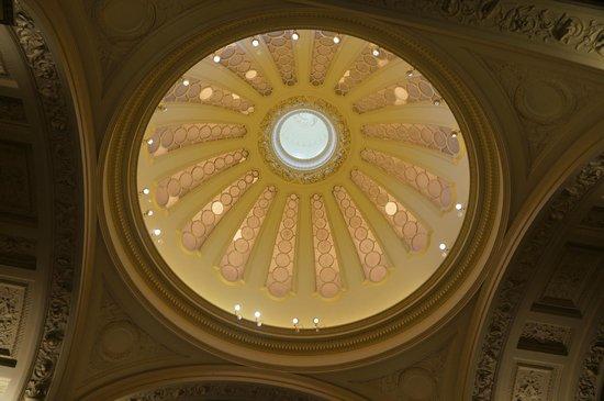 Fitzwilliam Museum: 博物館中美麗的天花板