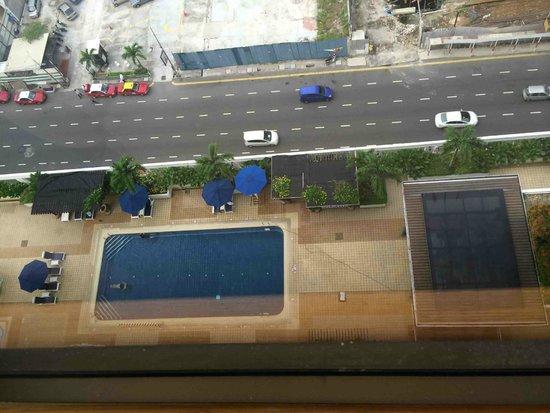Hotel Jen Penang: Pool (aerial view)