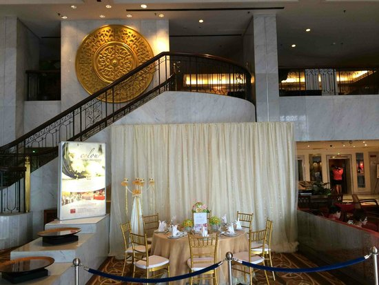 Hotel Jen Penang: Wedding sales area at lobby (which means u have to avoid weekends)