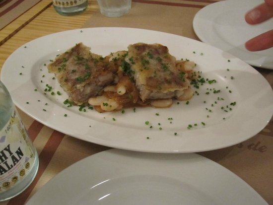 Barcelona Culinary Backstreets Walks: Another dish we tried as 'fork breakfast'