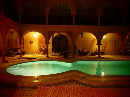 Guest House Merzouga : Amazing swimming pool