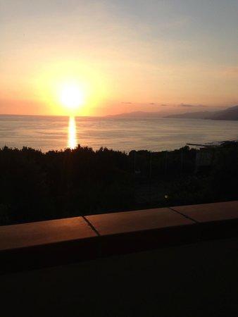 il tramonto su Palinuro - Foto di Le Terrazze Residence, Palinuro ...