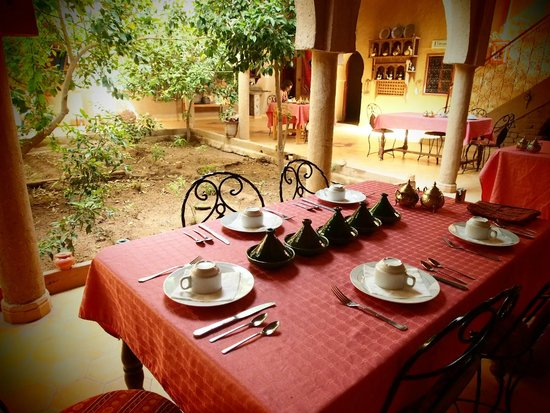 Guest House Merzouga : Breakfast