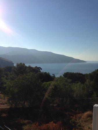 la veduta panoramica - Picture of Le Terrazze Residence, Palinuro ...