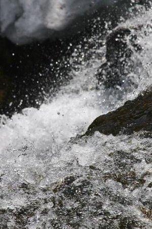Ryuzu Waterfall: 水